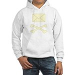 Go Postal Jolly Roger Hooded Sweatshirt