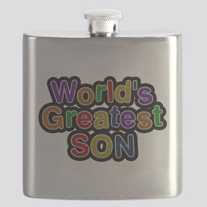 Worlds Greatest Son Flask