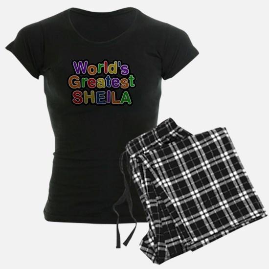 Worlds Greatest Sheila Pajamas