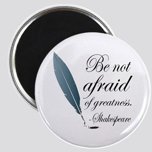 Shakespeare Greatness Quote Magnet