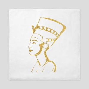 Nefertiti Egyptian Queen Queen Duvet
