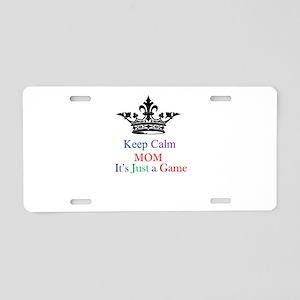 Keep Calm Mom Aluminum License Plate