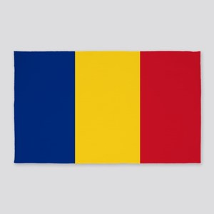 Romanian Flag 3'x5' Area Rug