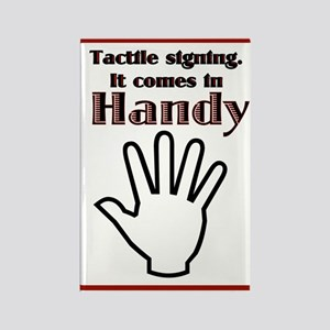 Tactile signing Rectangle Magnet (100 pack)