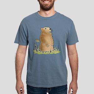 Cute Groundhog Mens Comfort Colors Shirt