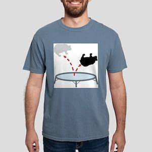 bear_trampoline Mens Comfort Colors Shirt