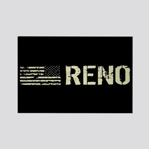 Black Flag: Reno Rectangle Magnet