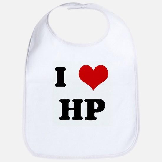 I Love HP Bib