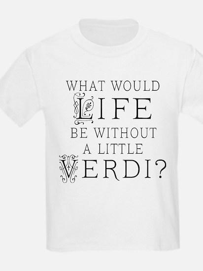 Verdi Music Quote T-Shirt