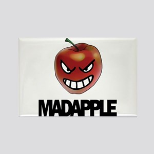 Mad Apple Rectangle Magnet