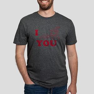 Oxytocin I Love You Mens Tri-blend T-Shirt