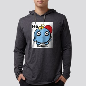 Cute Element Helium He Mens Hooded Shirt