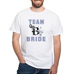 Celebrate Team Bride White T-Shirt