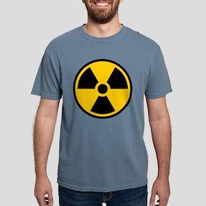 Radioactive Symbol Mens Comfort Colors Shirt