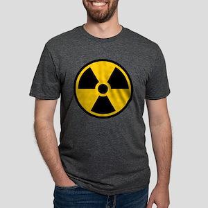 Radioactive Symbol Mens Tri-blend T-Shirt