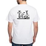 Muni...can ya? Mountain Unicycle White T-Shirt