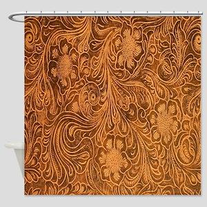 Wild West Texture 2 Shower Curtain