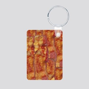 Bacon Background Keychains