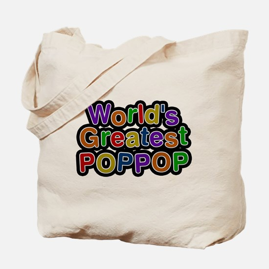 Worlds Greatest Poppop Tote Bag