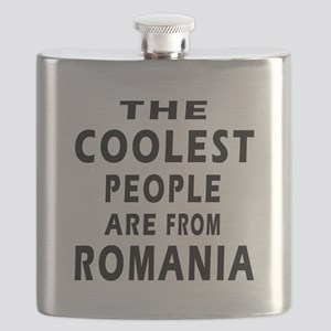 The Coolest Romania Designs Flask
