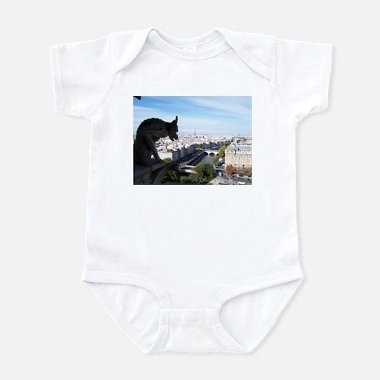 A Gargoyle's View of Paris Infant Bodysuit