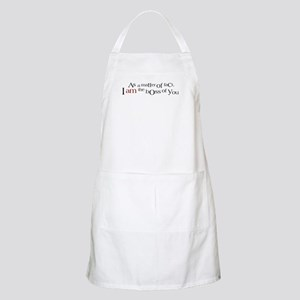 I AM The Boss of You BBQ Apron
