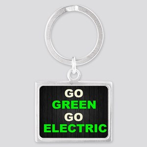 GREEN Landscape Keychain