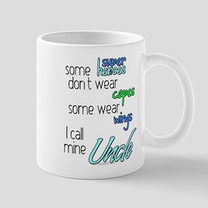 Superhero Uncle Mugs