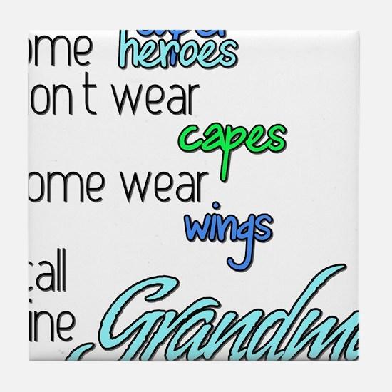 Funny Grandmas Tile Coaster