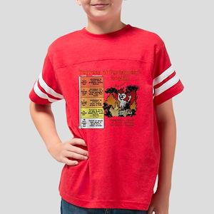 hell_10x10_blk Youth Football Shirt