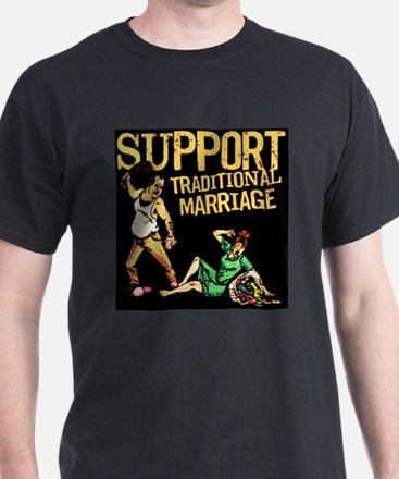 Support Traditional Marriage T-Shirt
