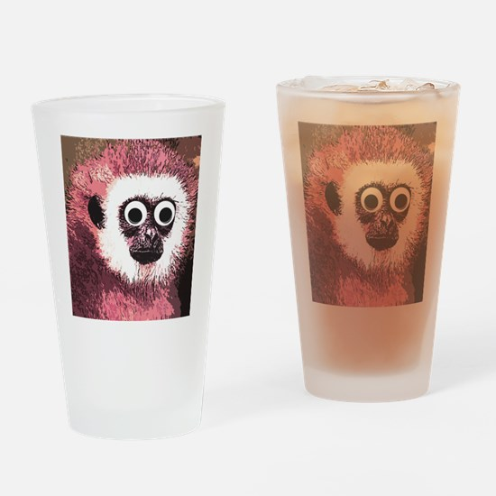 just some monkey business Drinking Glass