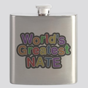Worlds Greatest Nate Flask