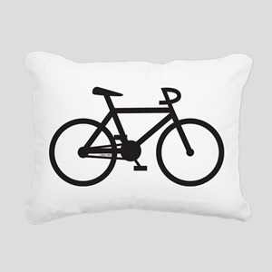 Klaar Bike Rectangular Canvas Pillow
