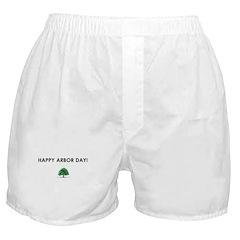 Happy Arbor Day Boxer Shorts