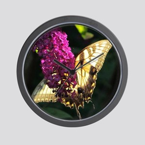 Eastern Tiger Swallowtail2 Wall Clock