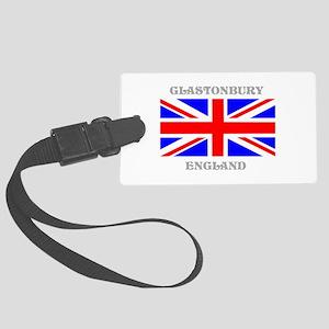 Glastonbury England Large Luggage Tag