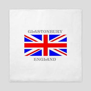 Glastonbury England Queen Duvet