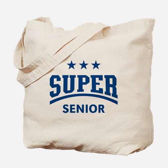 Super Senior (Blue) Tote Bag
