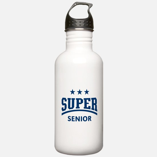 Super Senior (Blue) Water Bottle