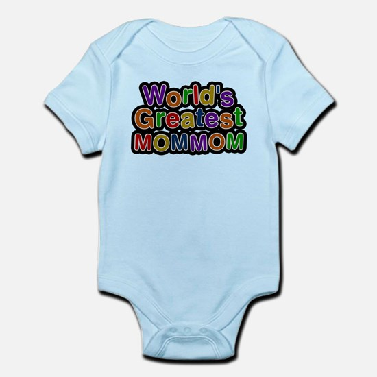 Worlds Greatest Mommom Body Suit
