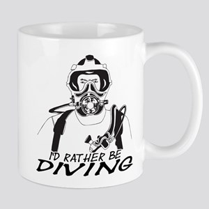 I'd Rather be Diving Mug