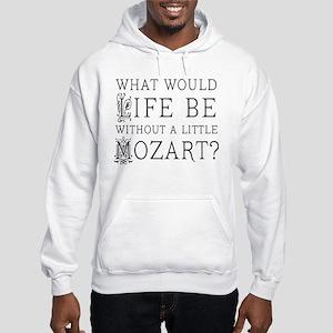 Life Without Mozart Hooded Sweatshirt