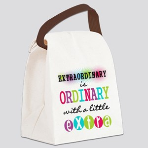 Extraordinary Canvas Lunch Bag