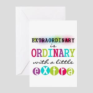 Extraordinary Greeting Card