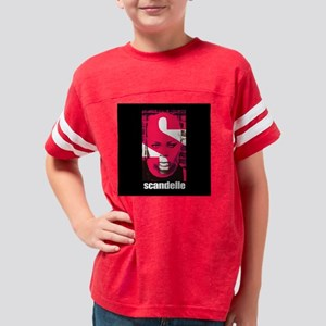 scandelle_superT_blacksq Youth Football Shirt