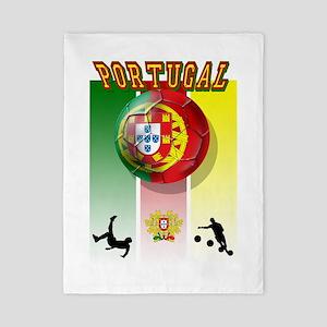 Portugal Football Soccer Twin Duvet