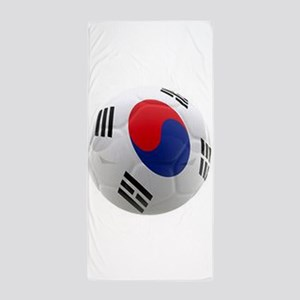 South Korea world cup soccer ball Beach Towel