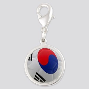 South Korea world cup soccer ball Silver Round Cha