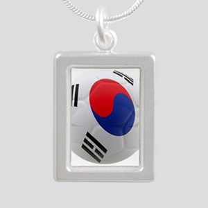 South Korea world cup soccer ball Silver Portrait